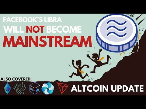 Facebook's Libra Will NOT Become Mainstream! Chainlink Move Coming? TRON, IOTA, ETH, HPB