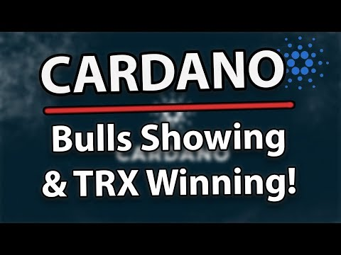 Cardano ADA HUGE Long Term & Tron TRX Winning Hard!