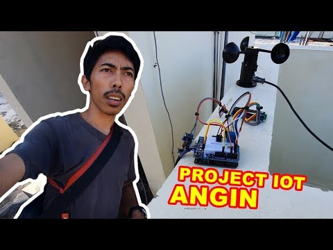 Tes Project #IoT Pengukur Kecepatan #Angin VLOG140