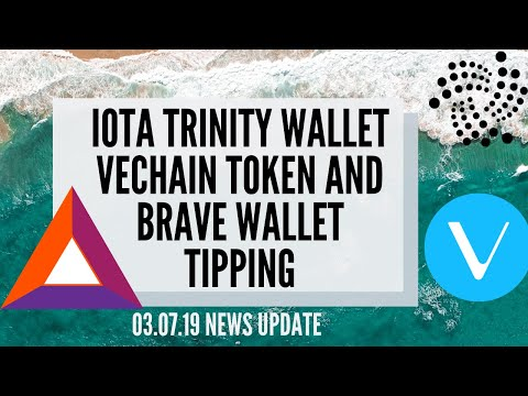 IOTA Trinity Wallet – VeChain Token buyback and Brave Wallet Tipping