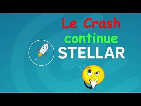 STELLAR LE CRASH CONTINUE !? XLM analyse technique crypto monnaie bitcoin