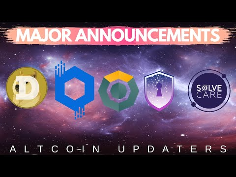 BIG ALTCOIN UPDATE – New Binance Listing, Dogecoin, SafeX, Safe Haven, Komodo, BitPanda, Solve.Care