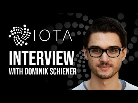 The Future Of IOTA With Co Founder Dominik Schiener
