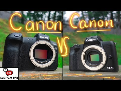 Canon EOS R VS Canon M50 | The Two MOST Hated Cameras on the Internet!