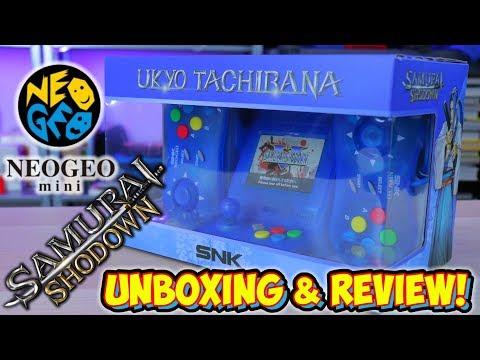 NEW Samurai Shodown Edition Neo Geo Mini – Ukyo Tachibana Version Review!