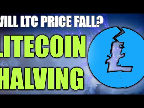 LITECOIN HALVING APPROACHING – WILL LTC PRICE FALL?