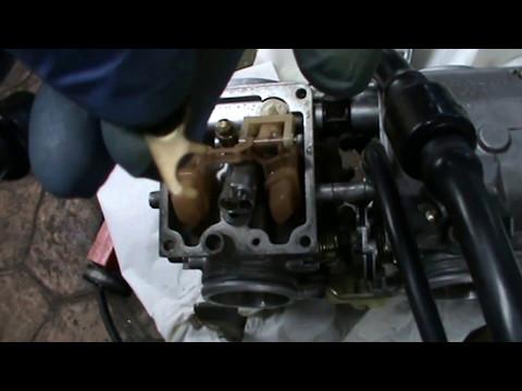 Limpiar los carburadores. YAMAHA XTZ 750 SUPERTENERÉ. Video 5 de ?? Cleaning carburetors.