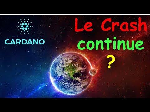 CARDANO / BTC LE CRASH N'EST PAS FINI !? ada analyse technique crypto monnaie bitcoin