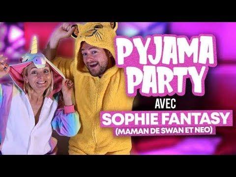 LA PYJAMA PARTY DE SOPHIE FANTASY ET JEREMSTAR ♡ (Swan & Neo)