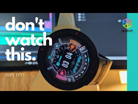 You Don't Want to Watch This – Amazfit Verge Review #2