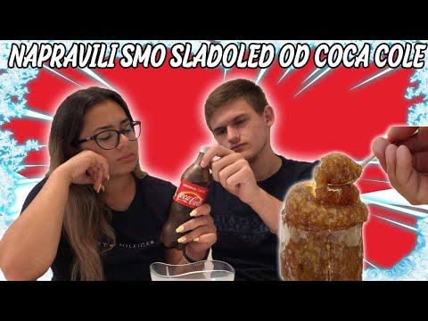 NAPRAVILI SMO SLADOLED OD COCA-COLE!!! *JEL MOGUCE?*