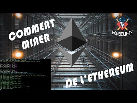 Comment miner de l'Ethereum (Ether)