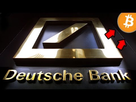 Deutsche Bank Takes HUGE Hit! Bitcoin Survives! Don't Be Fooled – Big Things are Happening.