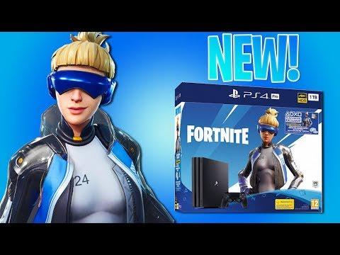 NEW PlayStation 4 SKIN in Fortnite Battle Royale! (Neo Versa Bundle!)