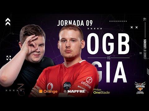 ORIGEN BCN VS VODAFONE GIANTS | Superliga Orange League of Legends | Jornada 9 | Temporada 2019