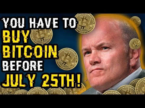 """You HAVE To BUY BITCOIN Before July 25th"" – Why Mike NOVOGRATZ Is URGING Investors To BUY UP CRYPTO"