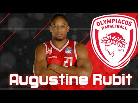 🇺🇸 Augustine Rubit 🔴⚪ Welcome to Olympiacos BC ᴴᴰ