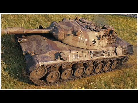 Leopard 1 • ON THE VERGE OF DEATH • WoT Gameplay