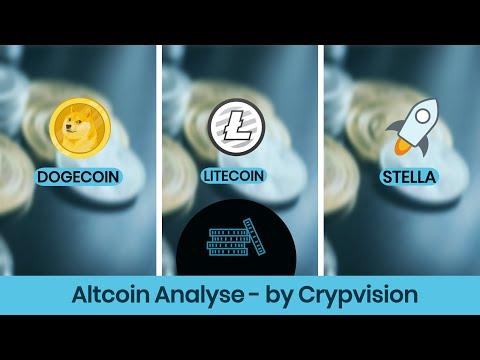 Mögliche Preisentwicklung zu Dogecoin, Litecoin und Stella!