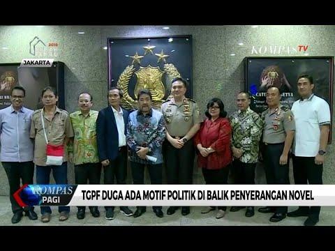 TGPF Duga Ada Motif Politik di Balik Penyerangan Novel