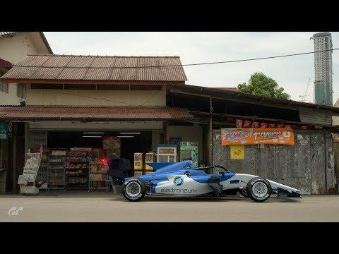 Super Formula Electroneum livery Gran Turismo Sport