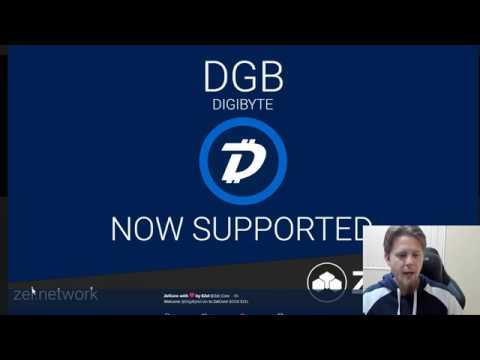 DigiByte Update – #10 – Poloniex USDT pairing & Zelcore Wallet