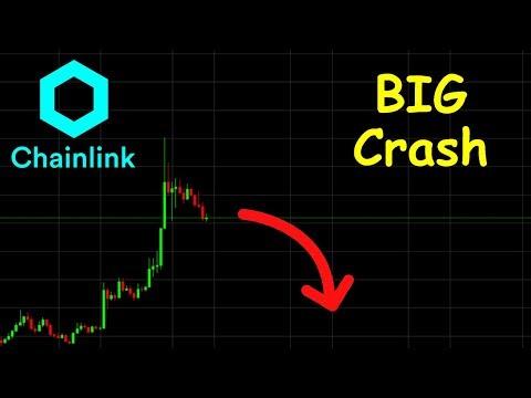 CHAINLINK GROS CRASH EN VUE !? LINK analyse technique crypto monnaie bitcoin