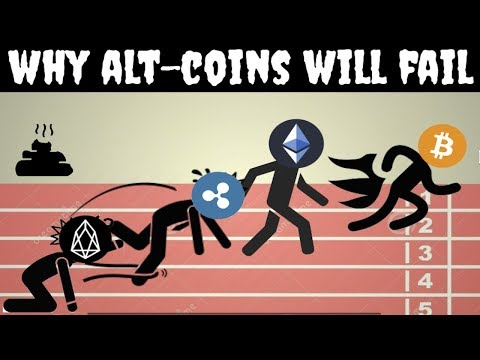 Here is Why Altcoins will fail (EOS = Shitcoin)