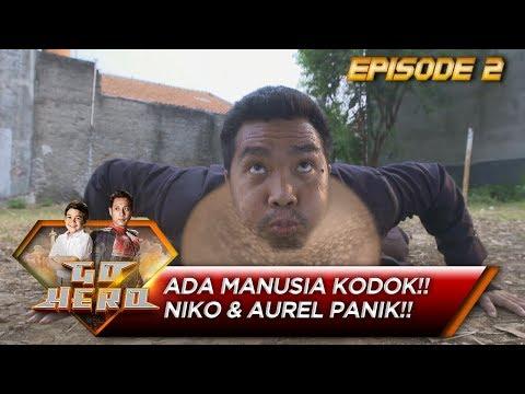 ADA MANUSIA KODOK! Niko dan Aurel Panik – Go Hero Eps 2