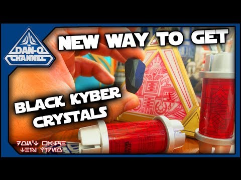 How to find BLACK KYBER CRYSTALS – New Method for Galaxy's Edge