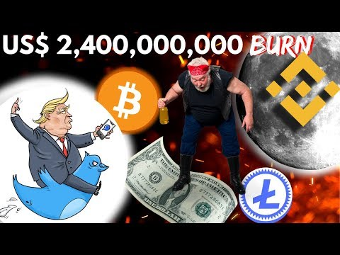 BINANCE will BURN 40% of the total BNB, Donald Trump has NO EFFECT on BITCOIN – Crypto News