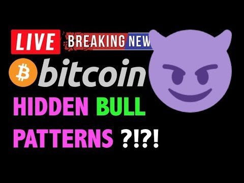 Bitcoin *NEW* HIDDEN BULL PATTERNS?! 🛑-LIVE Crypto Trading Analysis & BTC Cryptocurrency Price News