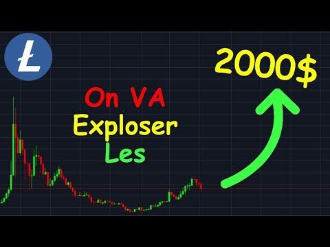 LITCOIN 2000$ VRAIMENT POSSIBLE !? ltc analyse technique crypto monnaie bitcoin