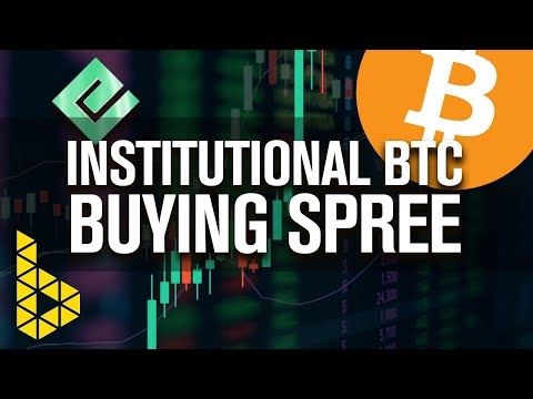 Institution BTC Buying Spree! Proof The Rich Are Buying Bitcoin & Bitcoin Only!