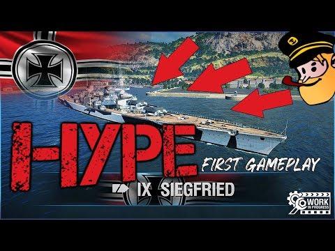 SIEGFRIED – german TIX premium HEAVY CRUISER || World of Warships