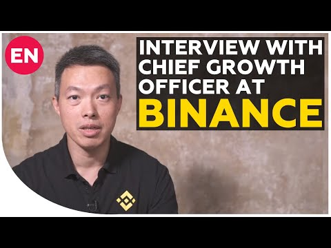 Ted Lin – about Binance DEX, BNB coin and future of crypto exchange | Interview with CGO at Binance