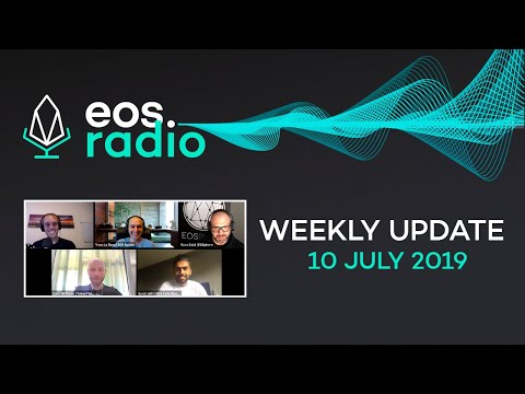 EOS Radio Weekly – 10 July 2019 – Passive Income w/ the DAPP Network Ecosystem