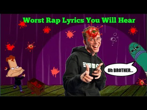 THE WORST RAP LYRICS YOU WILL EVER HEAR (IOTA!)
