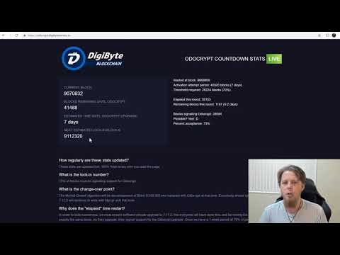 DigiByte Update – #14 – We are LOCKED IN w/Odocrypt! What's happening now?
