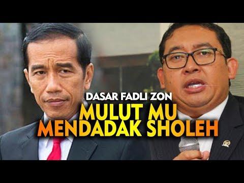 Lambe Fadli Zon Mendadak Beradab ! Model Mu Zon Zon , Ada Apanih ?