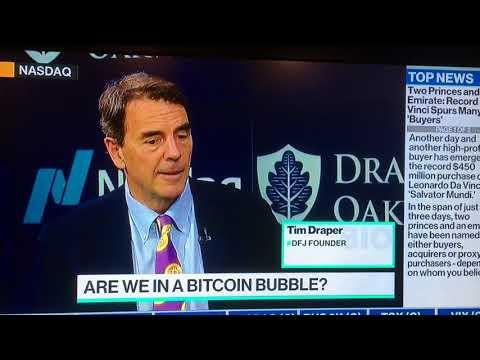 Tim Draper touts Bitcoin, Bancor, Tezos, and Credo!