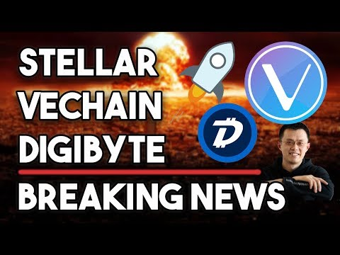 Stellar XLM Back In Top 10! Vechain Will Be Impossible To Stop & Digibyte DGB!