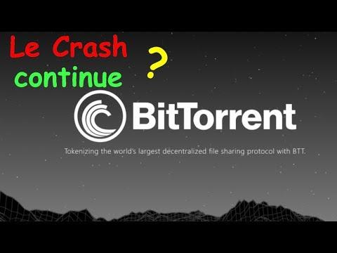 BTT GROS CRASH QUI CONTINUE !? BitTorrent analyse technique crypto monnaie bitcoin