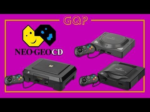 GQP – SNK Neo Geo CD – Neo Geo mais acessível?
