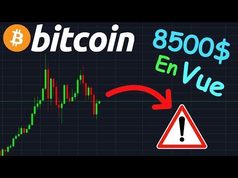 BITCOIN 8500$ TOUJOURS EN VUE !? btc analyse technique crypto monnaie