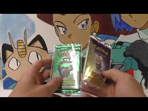 Opening a SKYRIDGE & NEO DESTINY 1ST EDITION Pokemon Pack