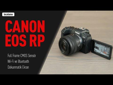 Tam Kare ve Aynasız: Canon EOS RP İncelemesi