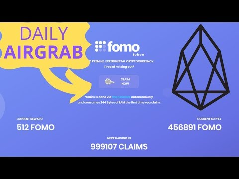 Daily EOS Airgrab – FOMO Cryptocurrency