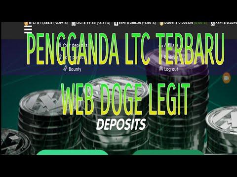 UPDATE MINING DOGE LEGIT | LTC TERBARU