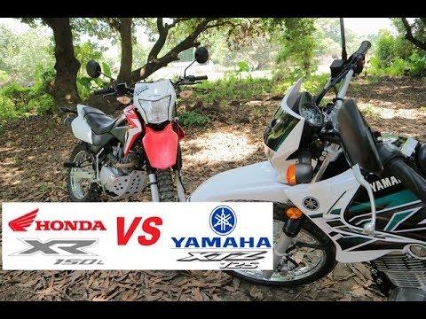 Yamaha XTZ 125 Vs Honda XR 150L Angrybikes